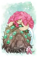 Rose Quartz of the Valley of the Wind by JoannaJohnen