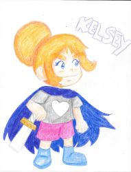 Crayola Pencils- Kelsey from Craig of the Creek by Wordgirlserenity67