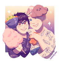 Festival Love - Yuri On Ice by CubedCake