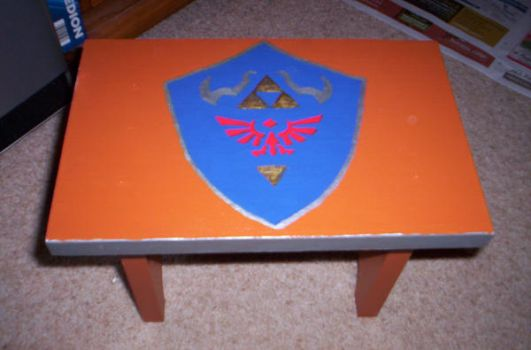 Hyrule Stool by StormyBabe