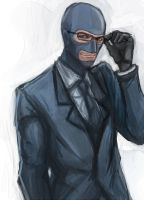 Spy with glasses by sniperchung