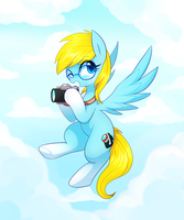 Commission 15 : Cloudy Capture by Marenlicious