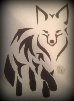 Tribal Art | Fox 2 by TKHusark
