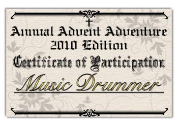 AAA 2010 Certificate by musicdrummer01
