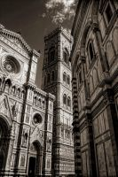 Curch in Florence by Oweha
