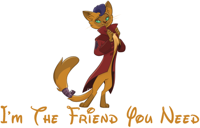 I'm The Friend You Need (Capper) by hannah731