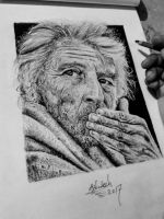 Hyperrealism drawing  by Ashutosht82