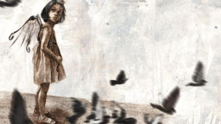 About doves and children by BeatrizMartinVidal
