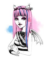 Monster High Rochelle by JessicaGuarnido