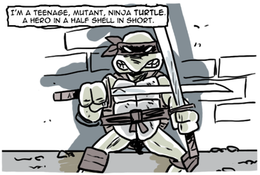 Eastman and Laird's Teenage Mutant Ninja Turtles by theEyZmaster