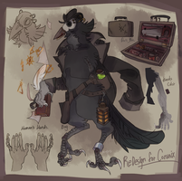 (1/2)Redesign for Corvaix by Bloodpus