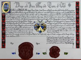 A Grant of Armes by WorldsEdge