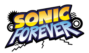 Sonic Forever logo by Sonicguru