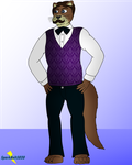 Michael the Otter by Vinomath