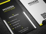 Modern Business Card Template No 5. by Frosteeish