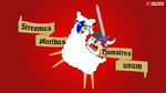 WatchHamster and Llamabrarian ride for Homeflix by GWBinvincible