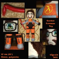 gordon freeman plushy by tiigroid