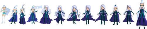 Trix Life : Evolution of Icy, Queen of Ice ! by Oxery