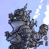 Some Kind of Steambot by CyborgNecromancer