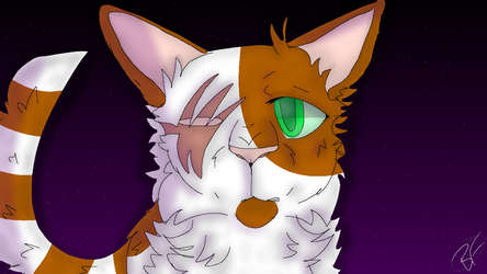 You're Here With Me - Brightheart ::Warriors:: by ma-lone
