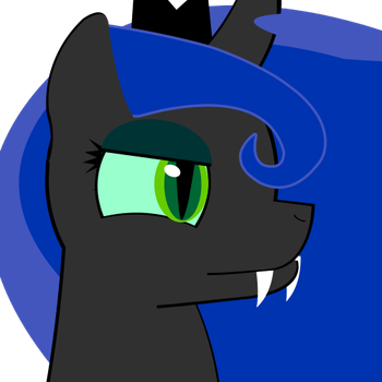 Black Ops 2 Emblem - Changeling Princess Luna by T-Spacer