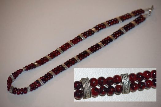 Two strand necklace by LissaMonster