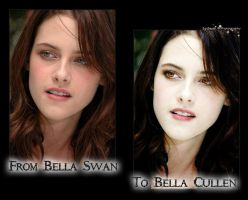 From Swan to Cullen Retouch by McStAr182