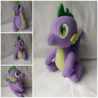Spike plush by Jhaub1