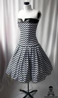 zigzag swing dress 5 by smarmy-clothes