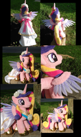 Feathered Cadance Plushie More Views by Drachefrau