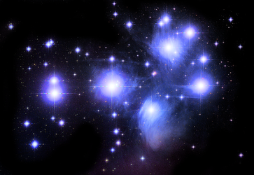 The Pleiades by jcpag2010