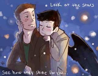 Look at the Stars Dean by Elentori