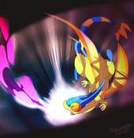 Flipped out Flygon by super-tuler