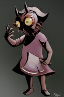 Villager wearing majora's mask by chaetoceros