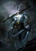 Warlord revisited by mattforsyth