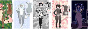 Collab anthro adopts | NYP | 2/5 OPEN by Souryuun