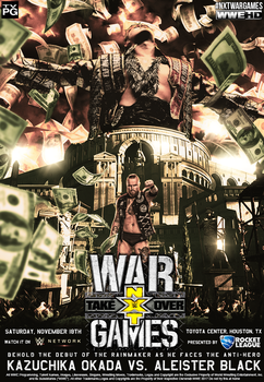 Custom NXT War Games Poster by Ara-Designs