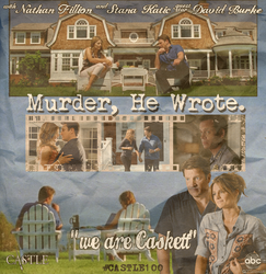 Murder, he wrote Poster by CCSerena89