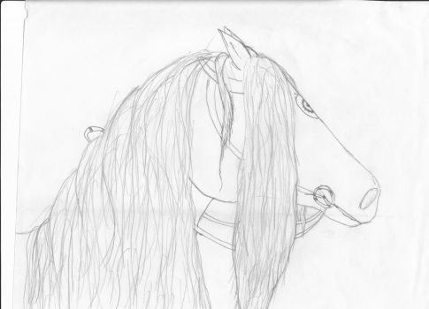 Another try at a friesian... by Horse-of-winter