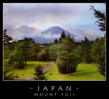 Japan - Mount Fuji by dark-spider