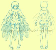 Sketch: Owl by Celsa