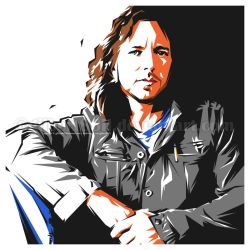 eddie vedder by gilbert86II