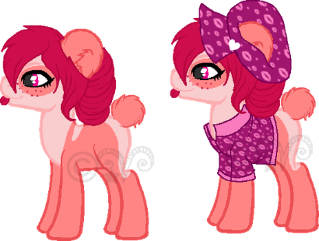 Valentine Panda Pony Adopt 1 (CLOSED) by Arianstar