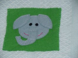 Elephant by VickitoriaEmbroidery