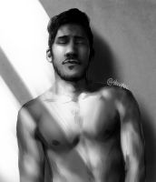 Markiplier (Shirtless) by Shuploc