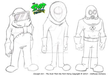 The Snot That Ate Port Harry - Concept Art by OuthouseCartoons