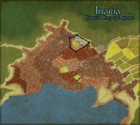 Map of Inaria by GingerBlues