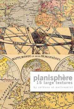 Planisphere - 15 textures by mellowmint