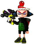 (SFM) Splatoon O.C - Alex J. Inkling 2.1 by DarkdowKnight