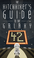 Hitchhiker's Guide Poster 1 by janussyndicate